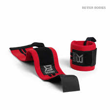 Better Bodies Wrist Wrap 18 Inches Red