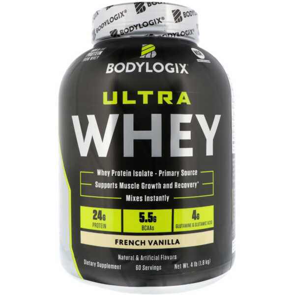 Bodylogix Ultra Whey French Vanilla 4lb