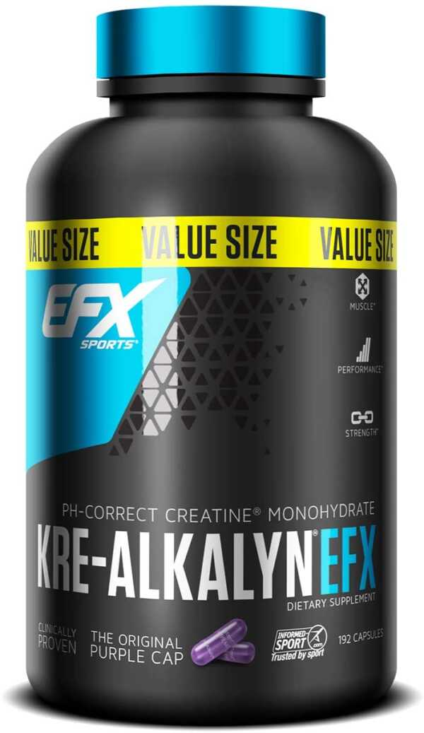 EFX Sports Kre-Alkalyn 192 cap