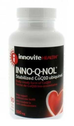 Innovite INNO-Q-NOL 100mg 90caps