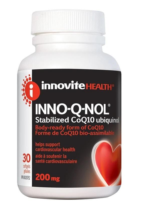 Innovite INNO-Q-NOL 200mg 30caps
