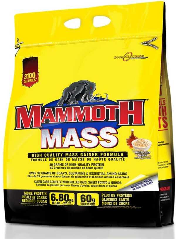 Mammoth Mass 15lb Maple N' Oats