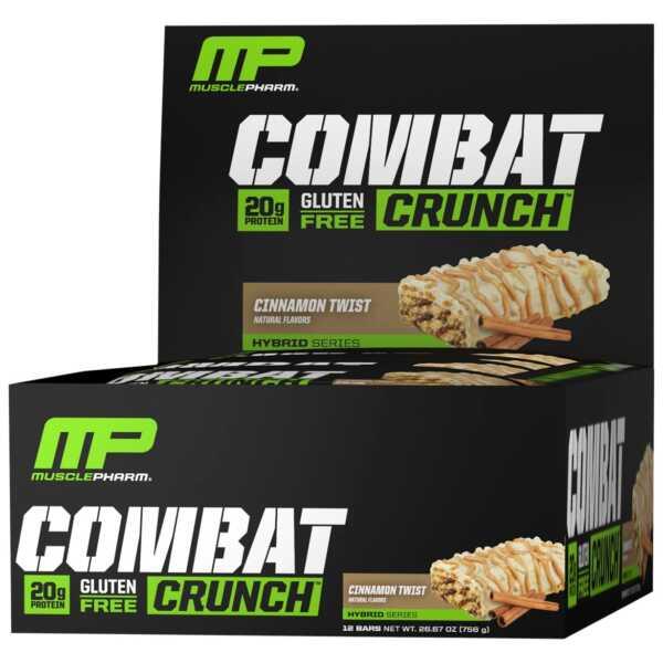 MusclePharm Combat Crunch Cinnamon Twist