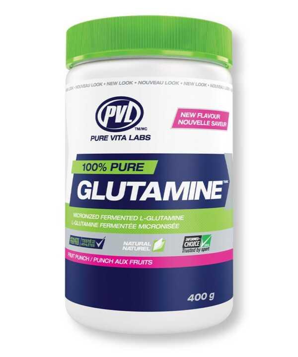 PVL Glutamine Fruit Punch 400g