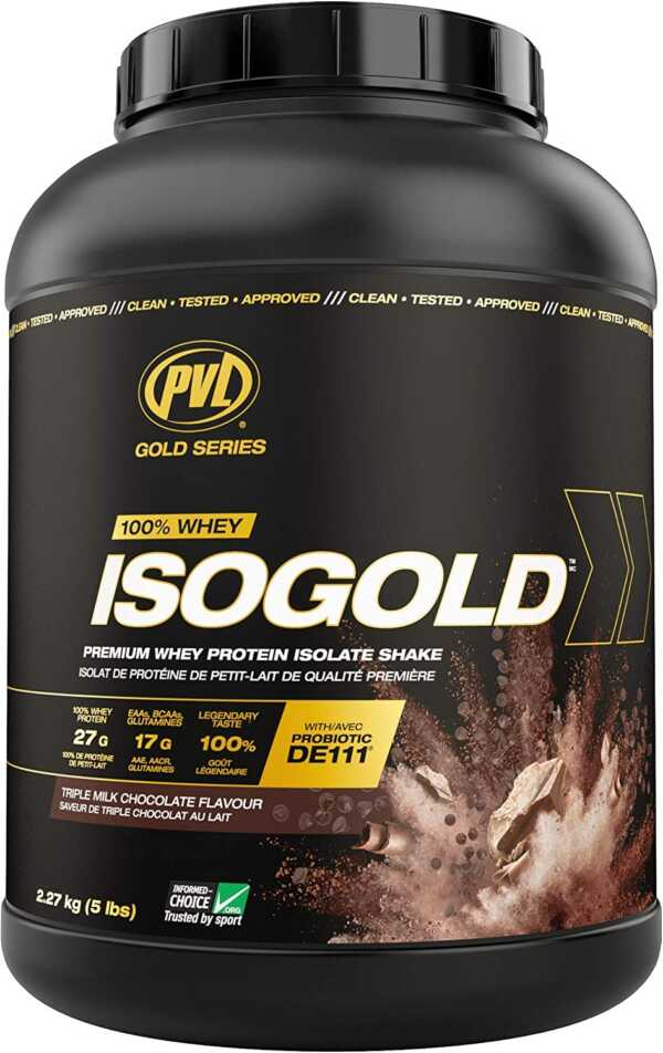 PVL IsoGold Chocolate 5lb