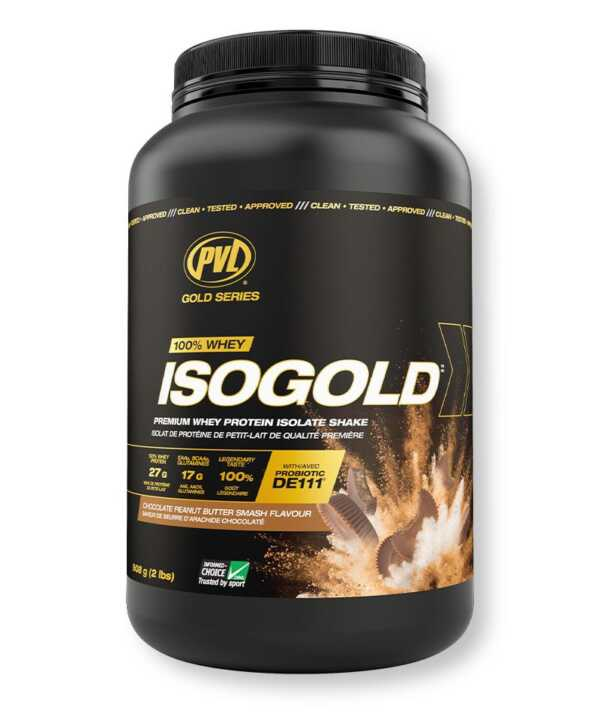 PVL IsoGold Peanut Butter Chocolate 2lb