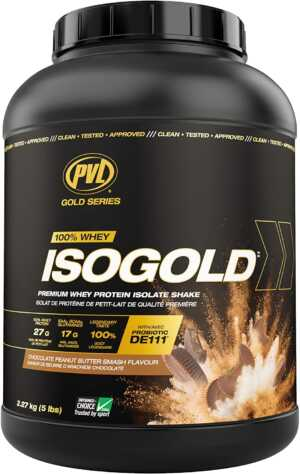 PVL IsoGold Peanut Butter Chocolate 5lb