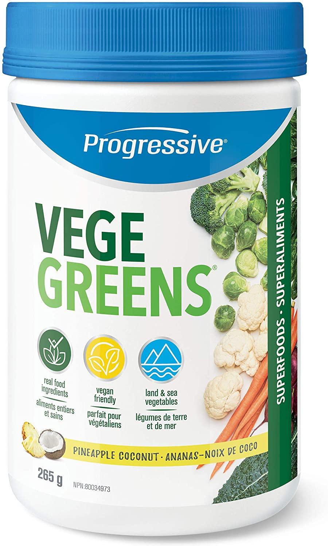 Progressive VegeGreens Pineapple Coconut 265g