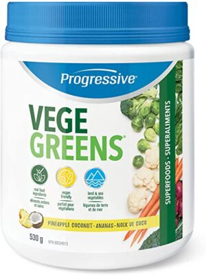 Progressive VegeGreens Pineapple Coconut 530g