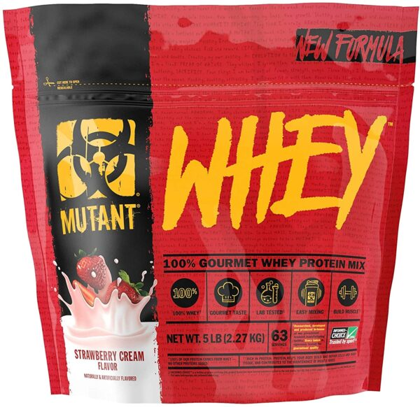 Mutant Whey Strawberry Cream 5lb
