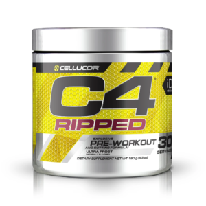 Product Image: Cellucor C4 RIPPED, Explosive Pre-Workout and Cutting Formula, Ultra Frost flavour, 30 servings