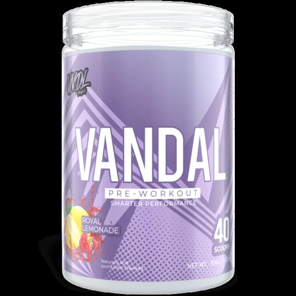 Product Image: Vandal Pre-Workout Smarter Performance, Royal Lemonade Flavour, 40 scoops