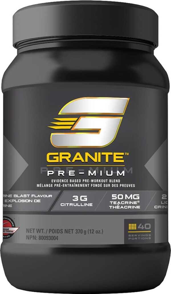 Granite Pre-Mium Tangerine Blast