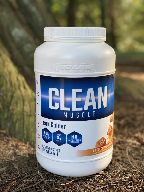 PROLINE CLEAN MUSCLE GAINER SALTED CARAMEL 3.4LB