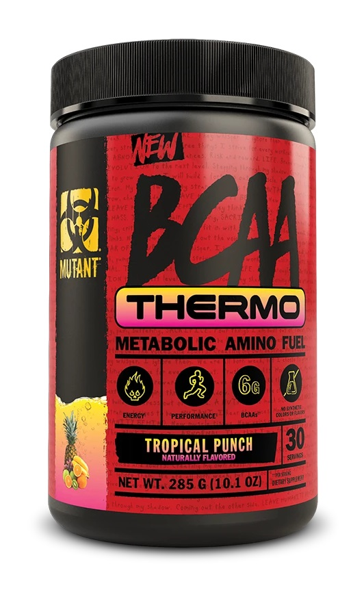 Mutant BCAA Thermo, Tropical Punch (30 serve)