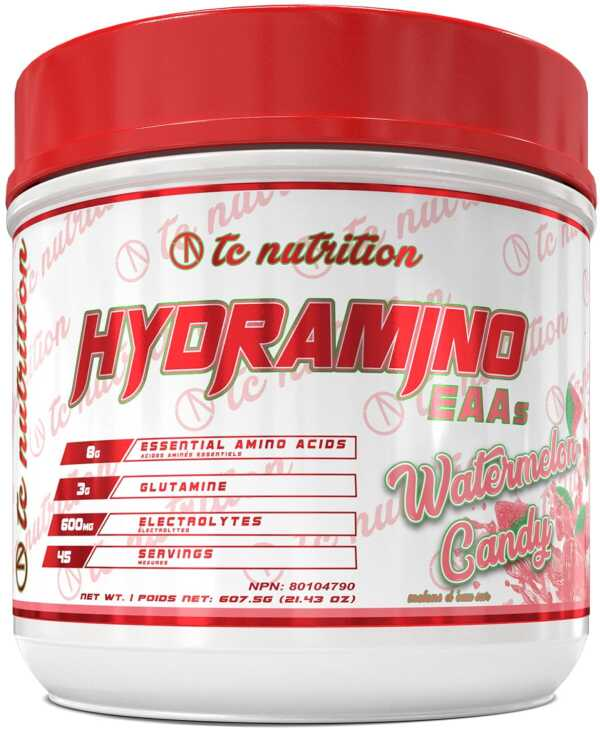 TC Nutrition Hydramino Watermelon Candy 45 Serve