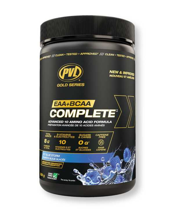 PVL Gold Series Amino Complete Icy Blue Storm (341g)
